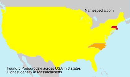 Surname Podogrodzki in USA
