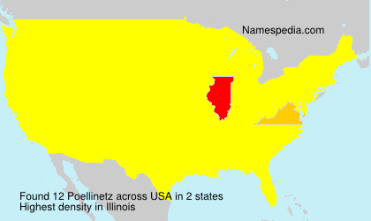 Surname Poellinetz in USA