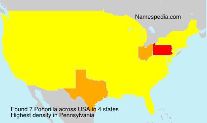 Surname Pohorilla in USA