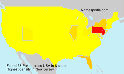 Surname Poko in USA