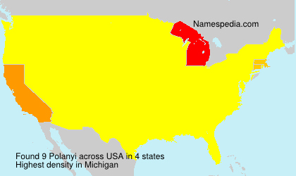 Surname Polanyi in USA