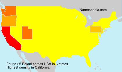Surname Poloai in USA
