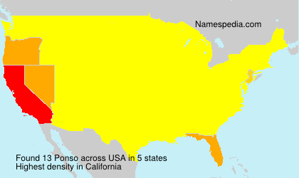 Ponso - USA