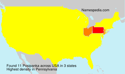 Surname Posipanka in USA