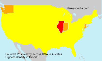 Surname Pospieszny in USA