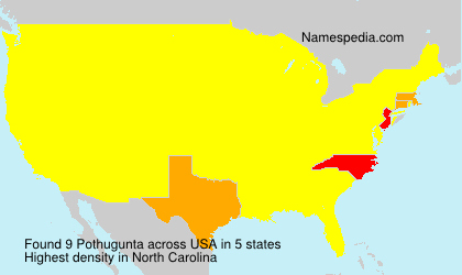 Surname Pothugunta in USA