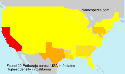Surname Pothuraju in USA