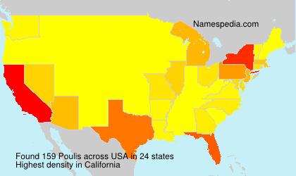 Surname Poulis in USA