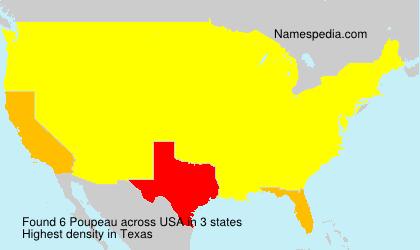 Surname Poupeau in USA