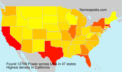 Surname Power in USA