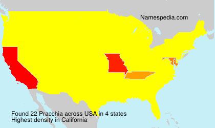 Pracchia - USA