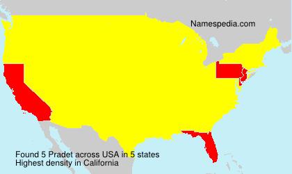Pradet - USA