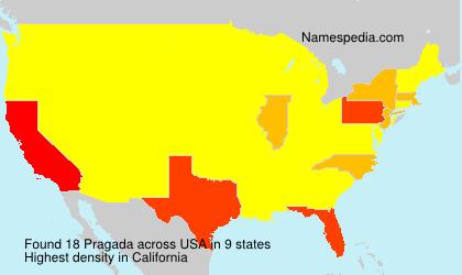 Surname Pragada in USA