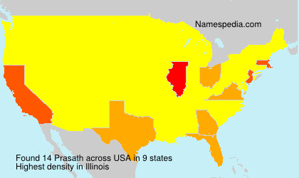Surname Prasath in USA
