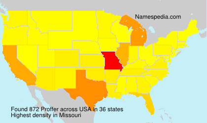 Surname Proffer in USA