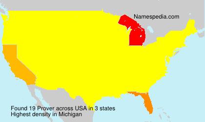 Prover - USA