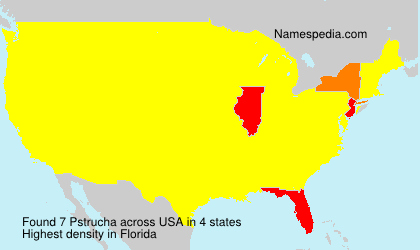 Surname Pstrucha in USA