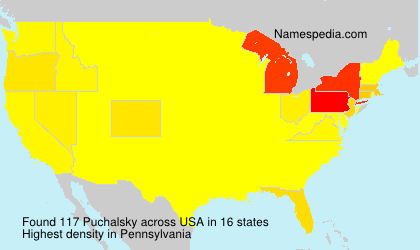 Surname Puchalsky in USA