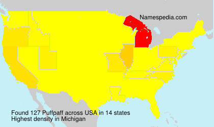 Surname Puffpaff in USA