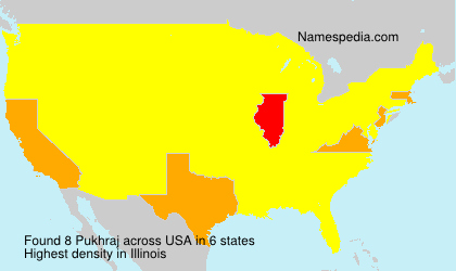 Familiennamen Pukhraj - USA