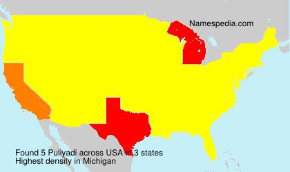 Surname Puliyadi in USA
