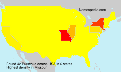 Surname Purschke in USA