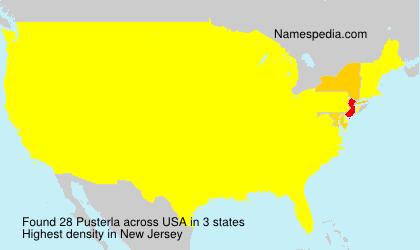 Surname Pusterla in USA