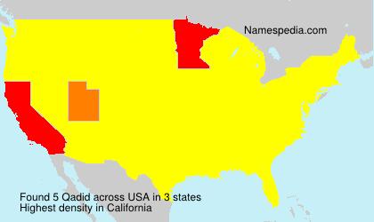 Surname Qadid in USA
