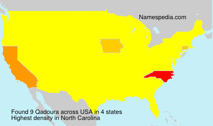 Surname Qadoura in USA