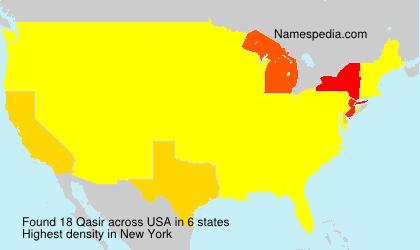 Surname Qasir in USA