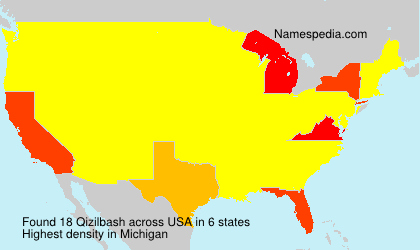 Surname Qizilbash in USA