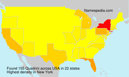 Surname Quadrini in USA