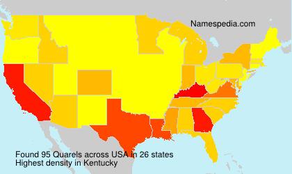 Surname Quarels in USA