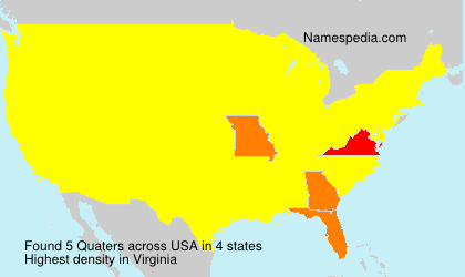 Surname Quaters in USA