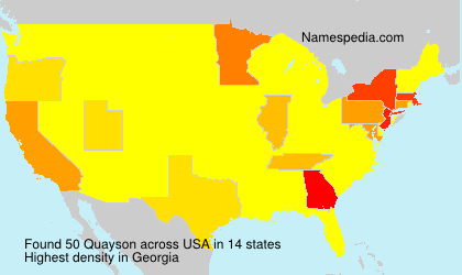 Surname Quayson in USA