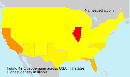 Surname Quebbemann in USA