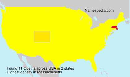 Surname Quelha in USA
