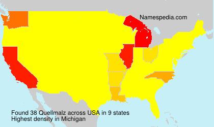Familiennamen Quellmalz - USA
