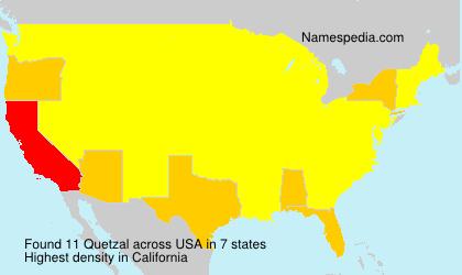 Surname Quetzal in USA