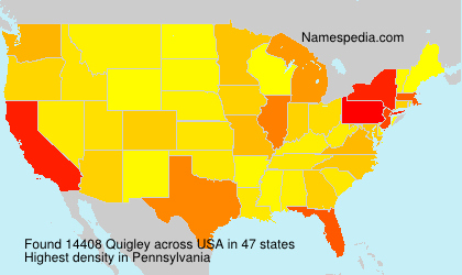 Surname Quigley in USA