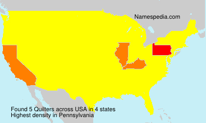 Surname Quilters in USA