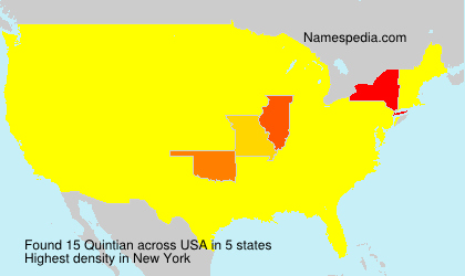 Surname Quintian in USA