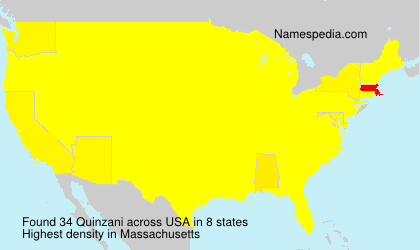 Surname Quinzani in USA