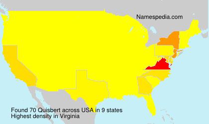 Surname Quisbert in USA