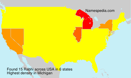 Surname Rabhi in USA