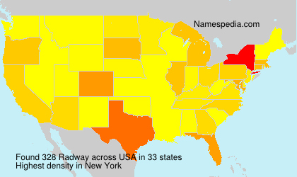 Surname Radway in USA
