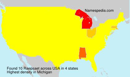 Raepsaet - USA
