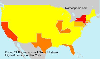 Familiennamen Raguel - USA