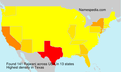Surname Rajwani in USA
