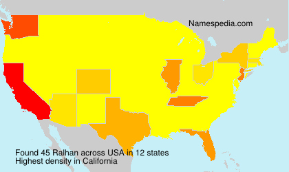 Surname Ralhan in USA